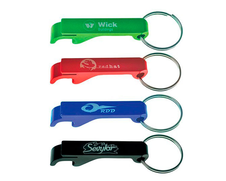 custom beer and brewery misc merch for craft breweries - ALBCOKC Aluminum Keychain Bottle Opener