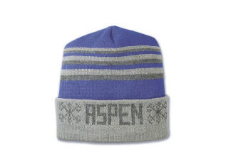custom beer and brewery hats for craft breweries - JK6 Jacquard Knit Beanie with Cuff