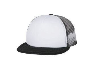 6875 Flat Bill Foam Trucker Cap