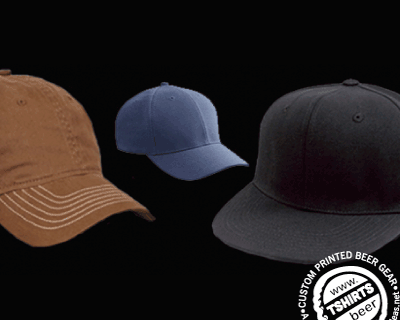 custom beer and brewery products for craft breweries - hats