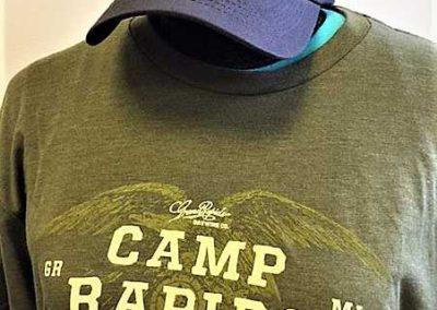 Camp Rapids tee